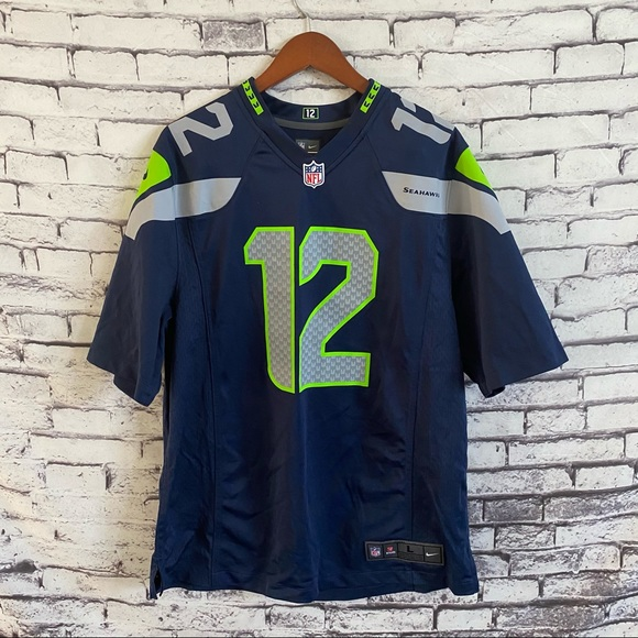 12s Seattle Seahawks Game Jersey
